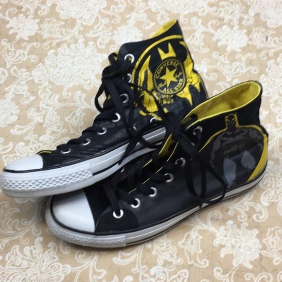 438766948d84 Converse Shoes - Converse All Star DC Comics Batman High Tops